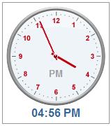 TimePicker Clock